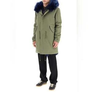 Mr and Mrs Italy military parka size M BNWT